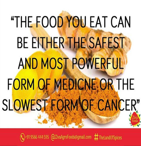 TURMERIC does have ANTICANCER effects.
