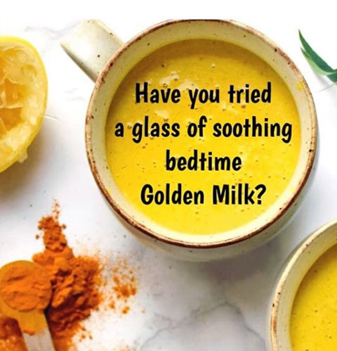 Have you tried a glass of soothing  bedtime Golden Milk