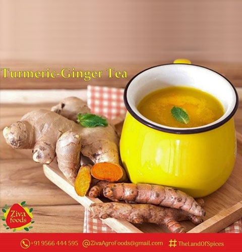 Turmeric – Ginger Tea