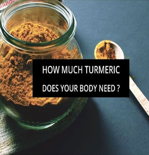 How much turmeric does your body need?