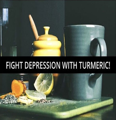 Fight Depression with Turmeric!