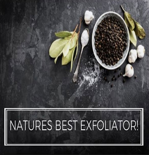 Natures Best Exfoliator!
